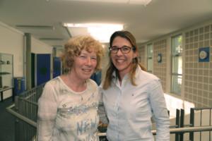 Marlyse Fleury et Delphine Roulet Schwab
