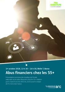 """Présentation """"Abus financiers chez les 55+"""" @ Neuchâtel"""